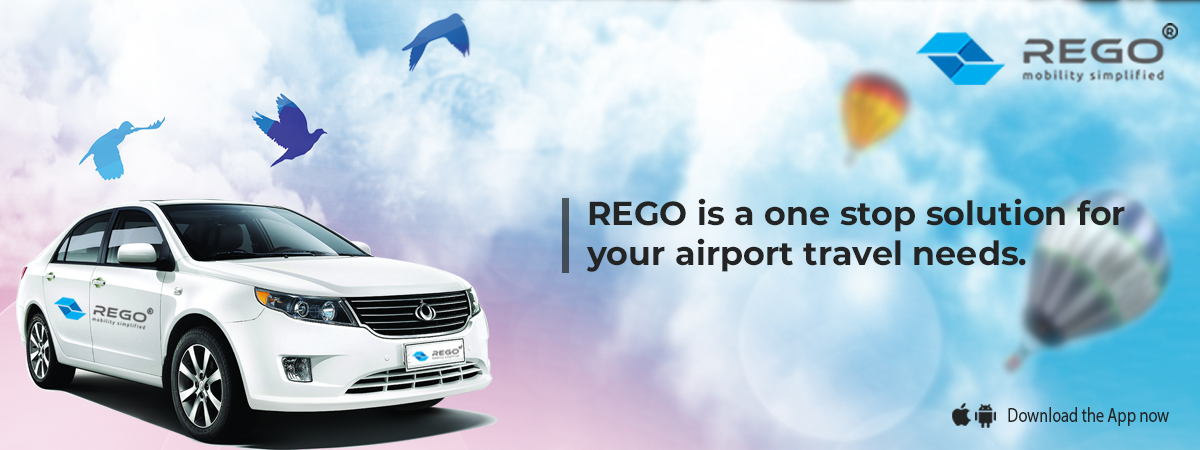 REGO is a one stop solution for your airport travel needs.
